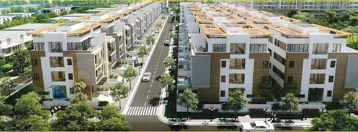 Phối cảnh tổng thể dự án Bari City
