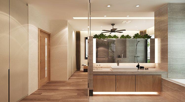 Phòng tắm Beverly Hills Hạ Long