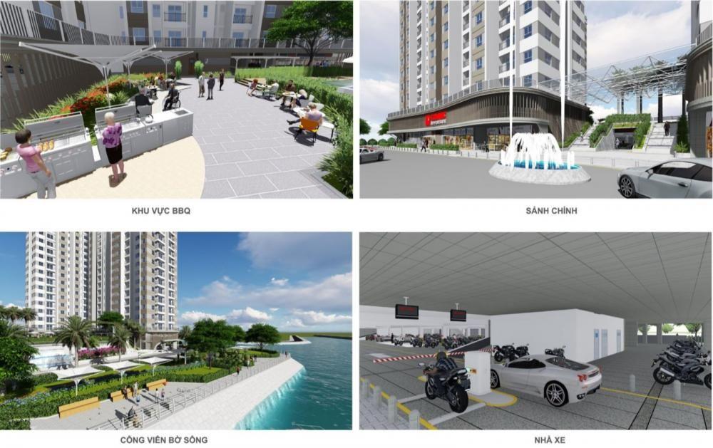 Tiện ích nội khu dự án Conixc Riverside