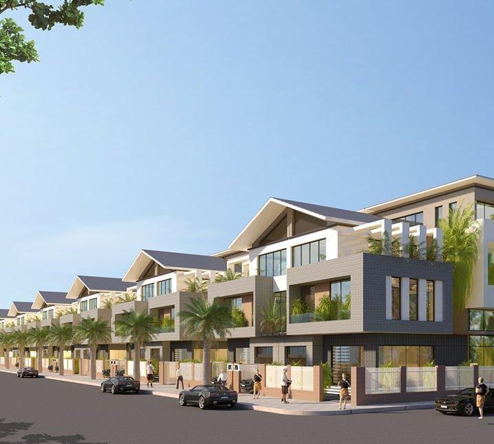 Biệt thự dự án Bàn Thành Bình Định