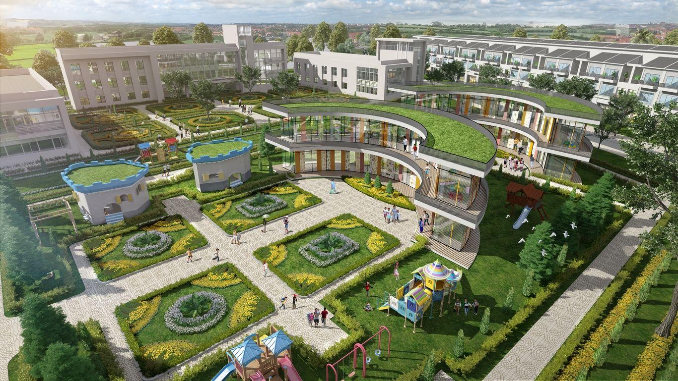 Hệ thống trường học ngay nội khu dự án khu đô thị T&T Millennia City