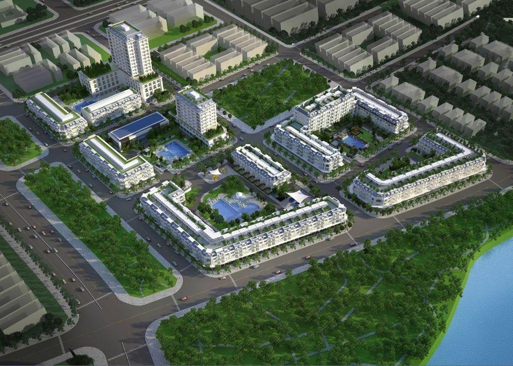 Phối cảnh tổng thể dự án Marina Bay Thủ Thiêm
