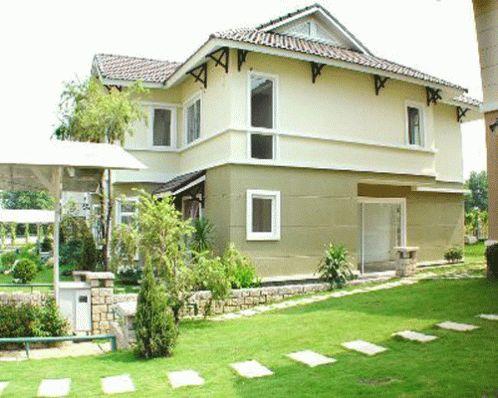 Dự án biệt thự Nam Quang được kết hợp mảng xanh bao phủ