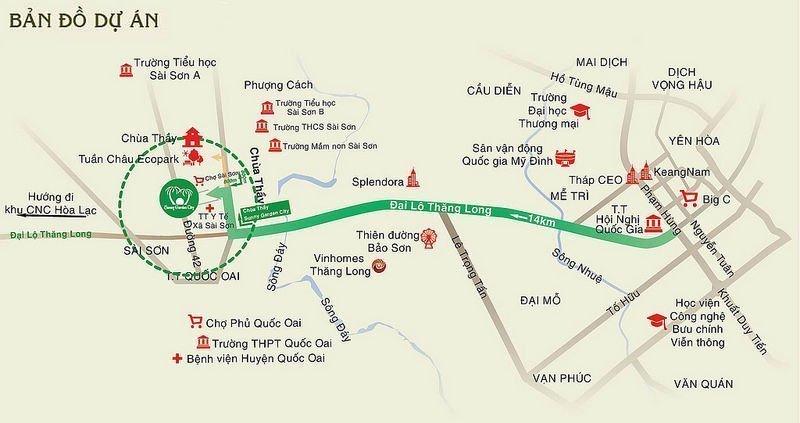 Nhà ở Xã hội Bamboo Gardenđược đánh giá là một trong những dự án nhà ở xã hội có vị trí giao thông thuận tiện nhất hiện nay