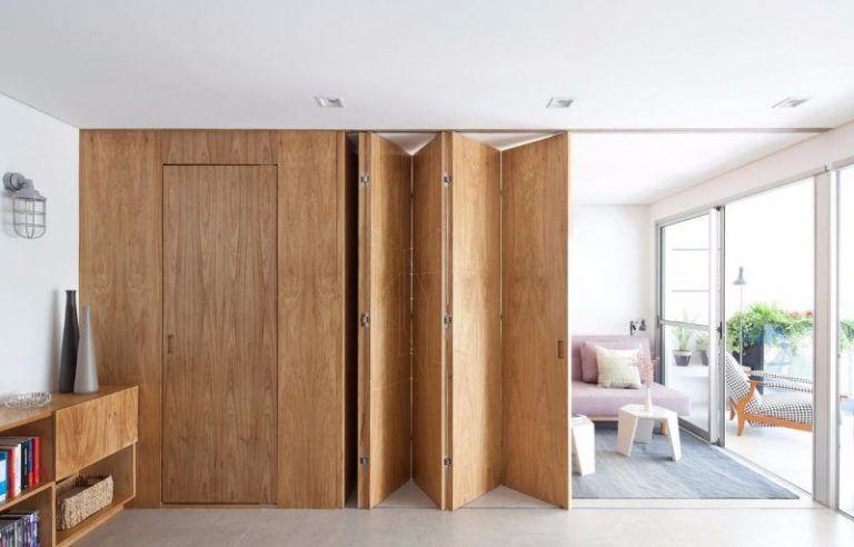 Vách ngăn di động cho phòng khách và phòng ngủ