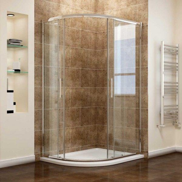 Ấn tượng vô cùng với mẫu thiết kế phòng tắm đứng kính cường lực 135 độ