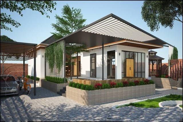 Hình ảnh mẫu nhà 1 tầng biệt thự valora fuji kiểu Nhật tại Nha trang