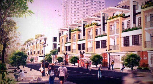 Nhà phố liền kề dự án Khu dân cư VHome