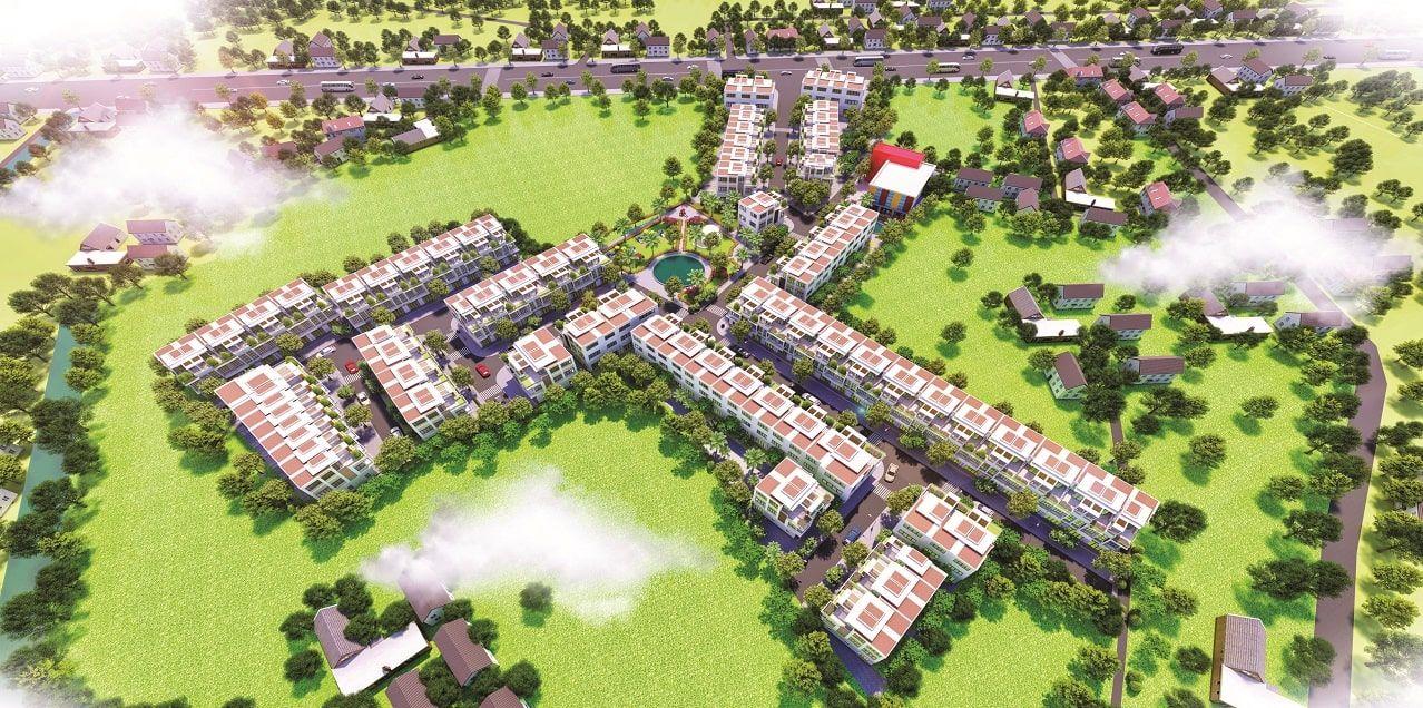 Phối cảnh dự án Khu đô thị Hoàng Phúc Residence