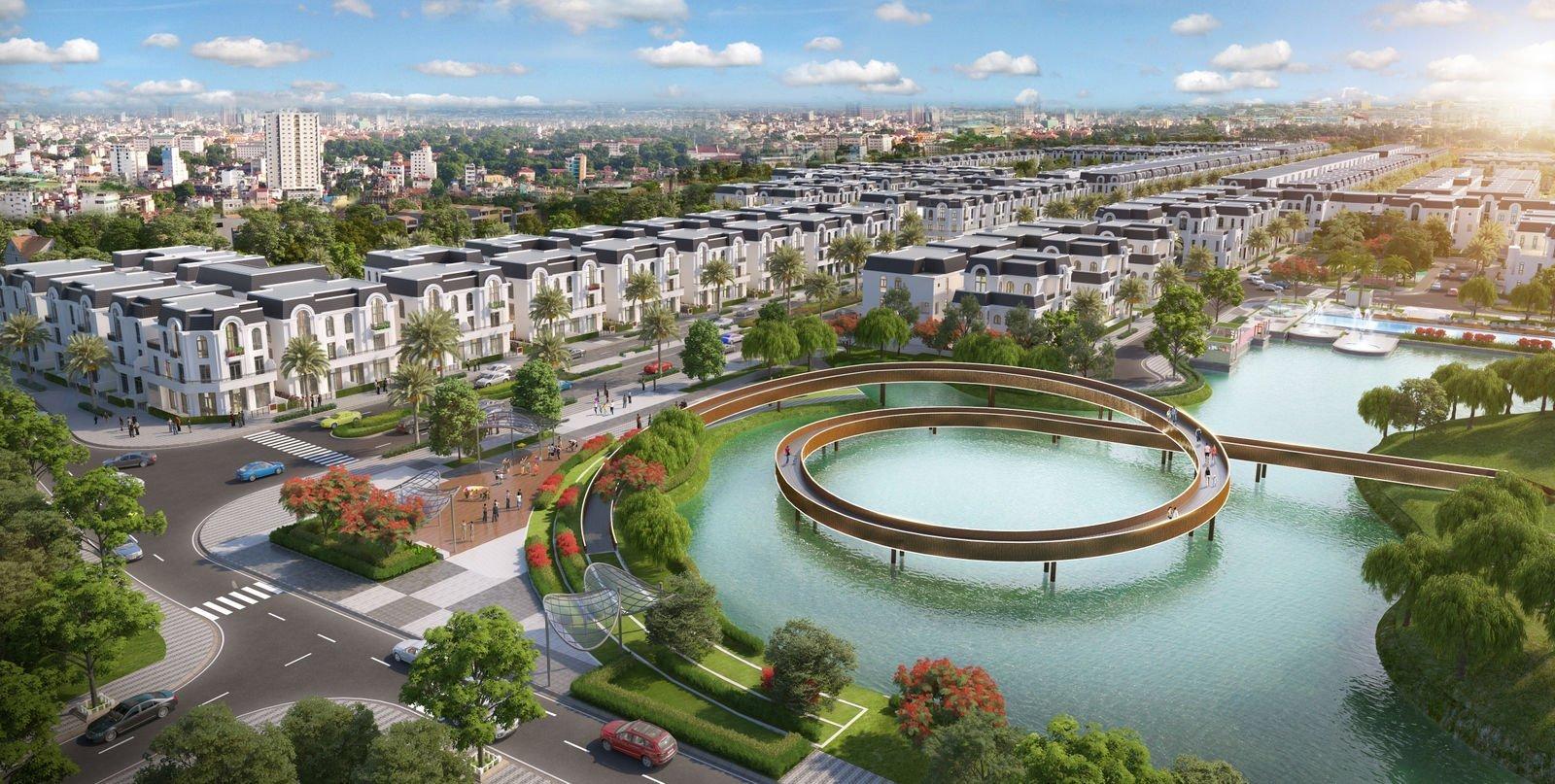 Dự án Khu đô thị The Crown Villas Thái Nguyên: Mặt bằng, tiến độ ...