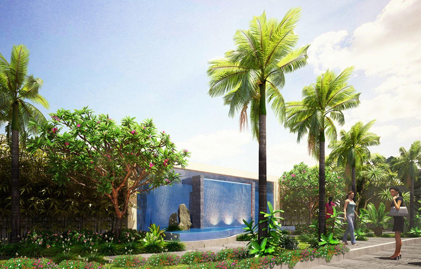 Sân vườn Carillon5 tân Phú