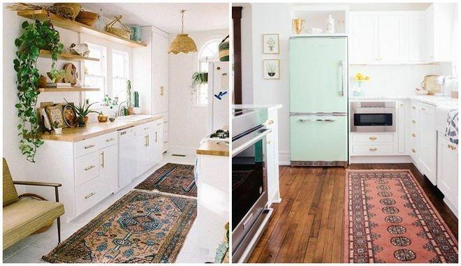Thảm nhà bếp an toàn và đẹp
