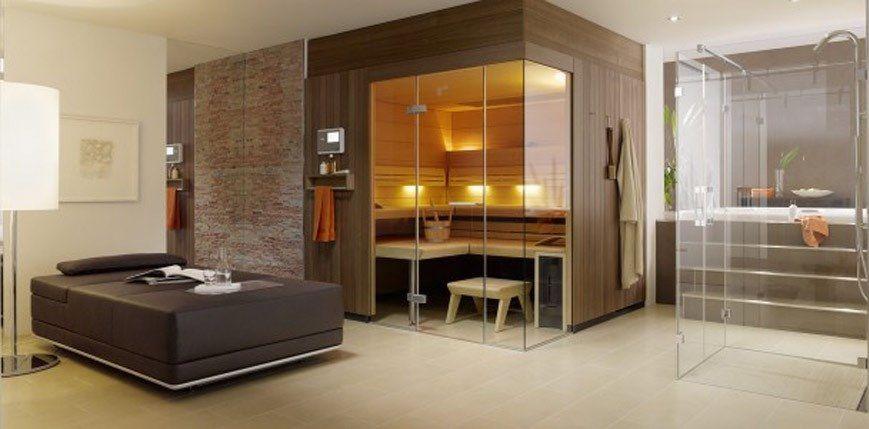 Thiết kế ấn tượng vừa làm spa vừa làm phòng xông hơi