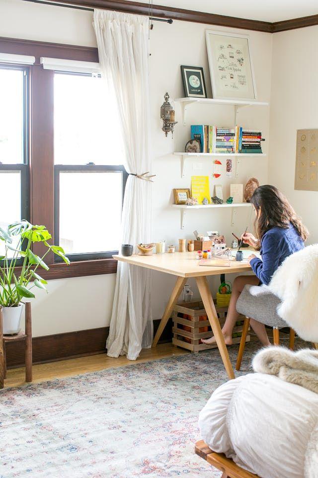 Ứng dụng màu sắc và món đồ nội thất giúp không gian trở nên thanh lịch và sang trọng