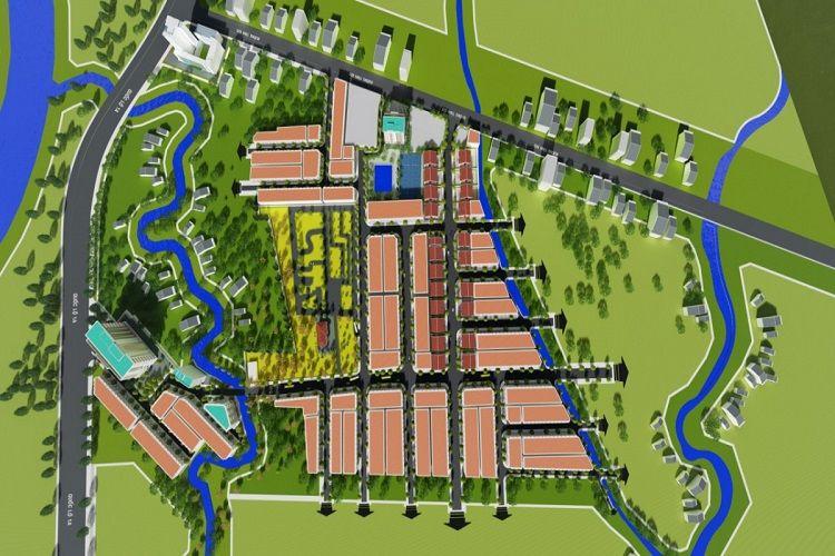 Mặt bằng dự án Tây Đô Ecopark