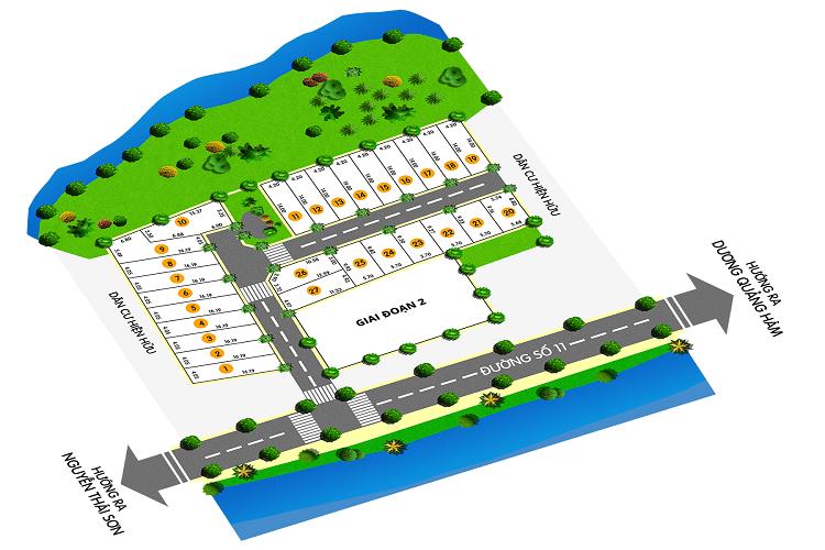 Mặt bằng dự án Thái Sơn Residence