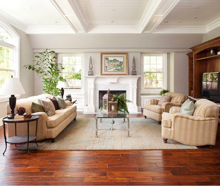 Mẫu sàn gỗ đẹp không thể rời mắt được thiết kế trong không gian phòng khách