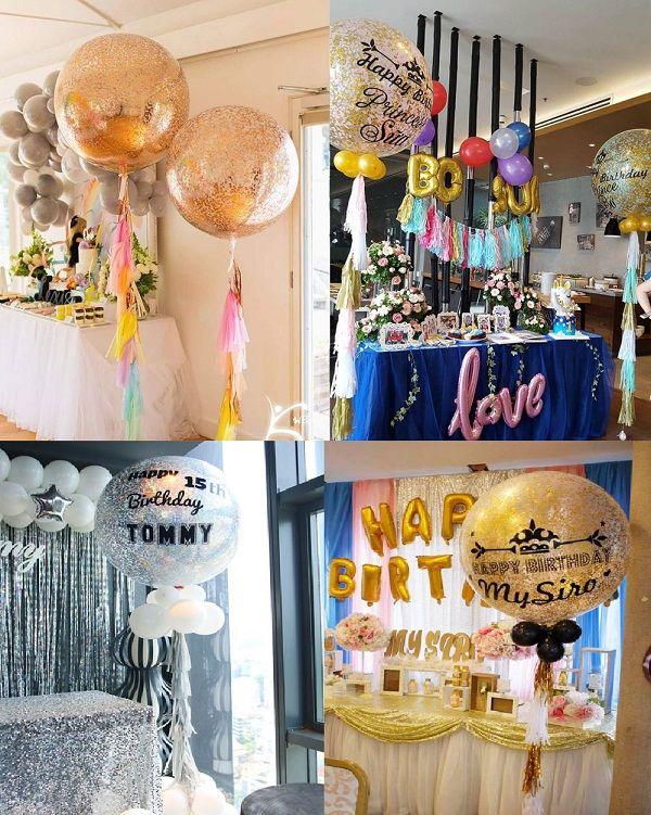 Trang trí tiệc sinh nhật cho người lớn đủ sang trọng và ngọt ngào