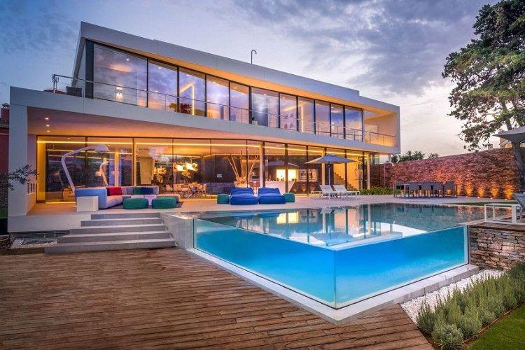 Mức chi phí xây nhà biệt thự có bể bơi đẹp