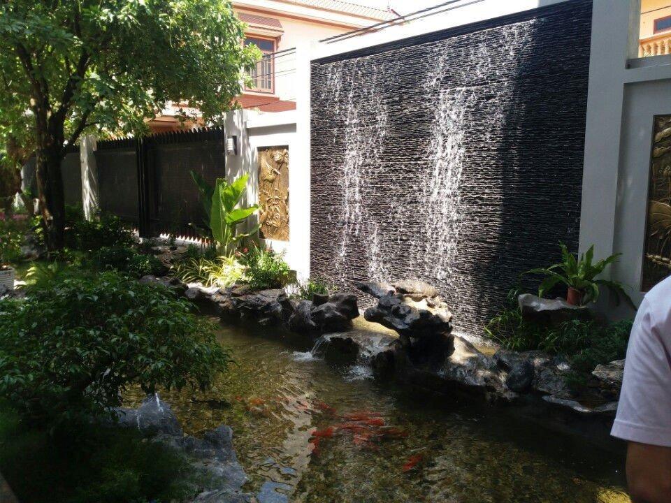 Xây dựng ao hồ sân vườn cần lưu ý hình dáng, vị trí, số lượng tránh phạm phong thủy