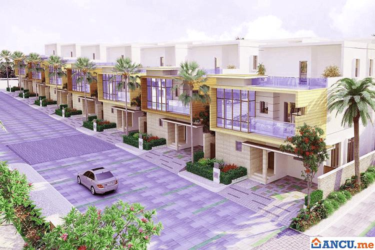 Phối cảnh nhà liền kề dự án Apec Villas Hồ Tràm