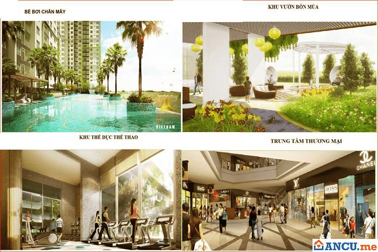 Tiện ích nội khu dự án  Hoàng Thành Villas