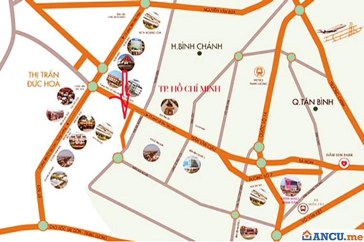 Vị trí dự án khu đô thị chuyên gia Galaxy Hải Sơn