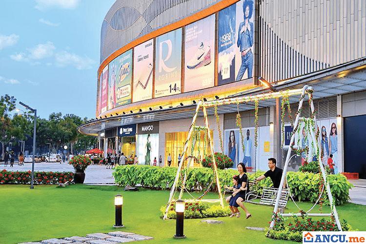 Khu thương mại dự án Chung cư Happy Valley