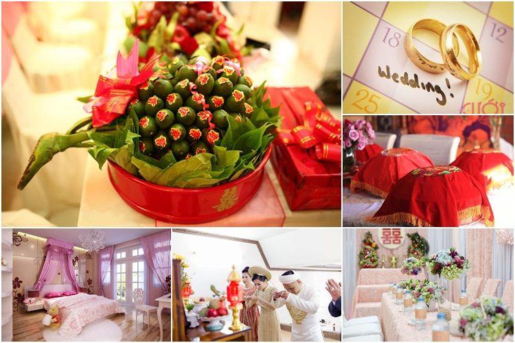 Phong thủy và phong tục ngày cưới theo truyền thống người Việt Nam