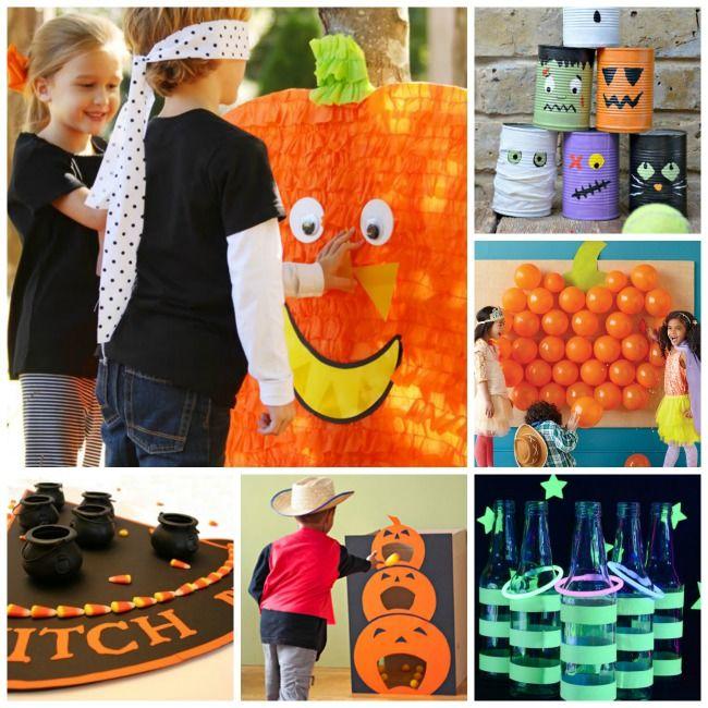Trang trí Halloween cho bé tại lớp học