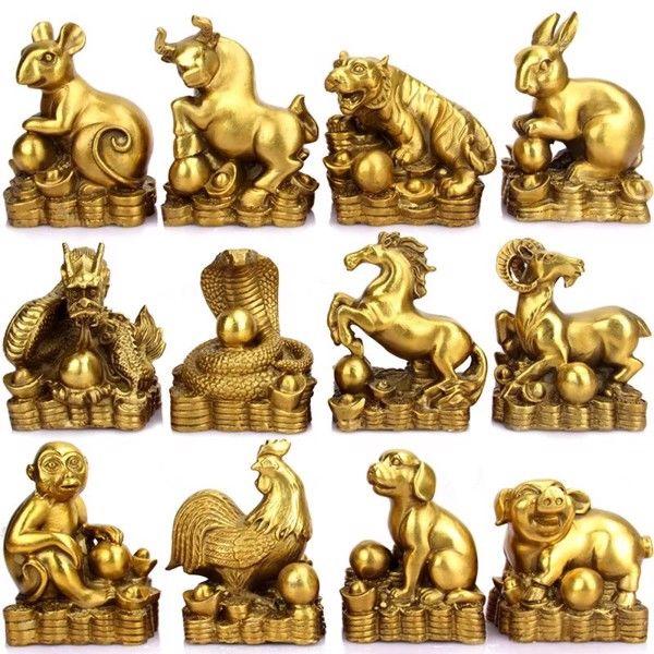 Chọn mua tượng đồng 12 con giáp hợp tuổihỗ trợ đắc lực cho gia chủ