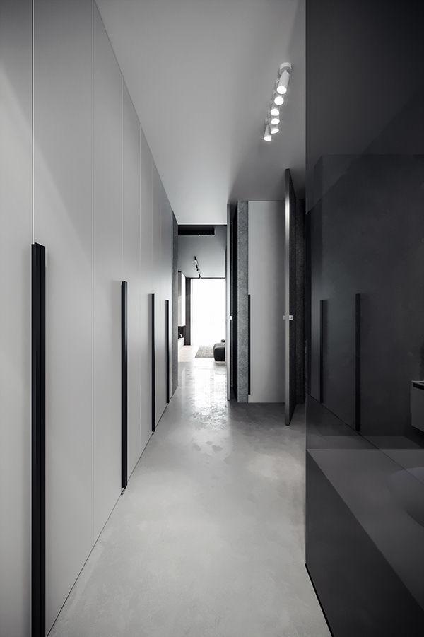 Hành lang lối dẫn vào phòng ngủ